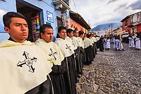 Guatemala , Antigua, catholic procession of All saints day