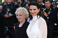 CLAIRE DENIS AND JULIETTE BINOCHE - RED CARPET OF THE FILM 'OKJA' AT THE 70TH FESTIVAL OF CANNES 2017