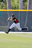 Pittsburgh Pirates minor league outfielder Andy Vasquez vs. the Philadelphia Phillies in an Instructional League game at Pirate City in Bradenton, Florida;  October 5, 2010.  Photo By Mike Janes/Four Seam Images