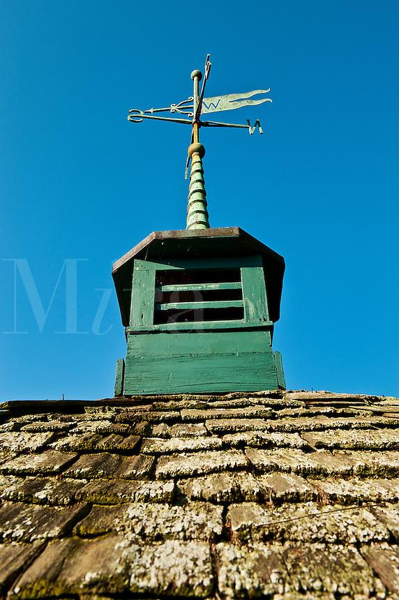 Barn cupola and weather vane.