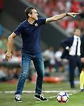 FC Barcelona's second coach Juan Carlos Unzue during La Liga match. August 28,2016. (ALTERPHOTOS/Acero)