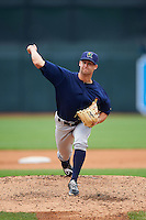Cedar Rapids Kernels pitcher Luke Bard (31) delivers a pitch during a game against the West Michigan Whitecaps on June 7, 2015 at Fifth Third Ballpark in Comstock Park, Michigan.  West Michigan defeated Cedar Rapids 6-2.  (Mike Janes/Four Seam Images)