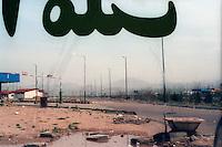 A petrol station on a highway near Tehran..