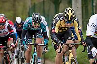 Wout van Aert (BEL/Jumbo-Visma) up the Molenberg<br /> <br /> 105th Ronde van Vlaanderen 2021 (MEN1.UWT)<br /> <br /> 1 day race from Antwerp to Oudenaarde (BEL/264km) <br /> <br /> ©kramon