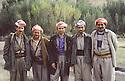 Iran 1980.1st from left, Selim Assad Khoshavi and Sheikhan, Mustafa Nerway, Babaker Zibari....Iran 1980.De gauche a droite, Selim Assad Khoshavi, Sheikhan,Mustafa Nerway, Babaker Zibari ....