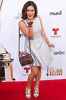 PASADENA, CA, USA - OCTOBER 10: Q'Orianka Kilcher arrives at the 2014 NCLR ALMA Awards held at the Pasadena Civic Auditorium on October 10, 2014 in Pasadena, California, United States. (Photo by Celebrity Monitor)