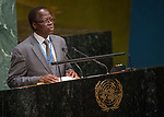 GA 72<br /> High-level meeting of the General Assembly on the appraisal of the United Nations Global Plan of Action to Combat Trafficking in Persons<br /> 25th plenary meeting<br /> <br /> BURKINA FASO