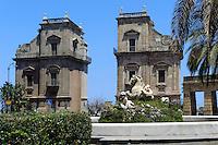 Porta Felice in Palermo, Sizilien, Italien