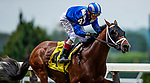 June 4, 2021:  Mahaamel with John Velazquez abaord wins a maiden race at Belmont Park in Elmont, New York on June 4, 2021. Evers/Eclipse Sportswire/CSM