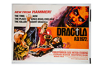 BNPS.co.uk (01202) 558833. <br /> Pic: SpecialAuctionServices/BNPS<br /> <br /> One of the most expensive lots in the group are posters for Dracula AD which could sell for up to £1,000.<br /> <br /> A collection of rare movie posters that have been sat gathering dust in a garage have sold at auction for £6,500.<br /> <br /> The 32 sheets date from the 1950s to the '70s and promote classic movies such as Frankenstein and Christopher Lee's Dracula.<br /> <br /> The vendor had owned the posters for several years after she had inherited them from a relative.