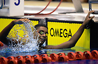Tyron Henry (100m freestyle). Session ten on day five of the 2017 National Age Group Swimming Championships at  Wellington Regional Aquatic Centre in Wellington, New Zealand on Saturday, 25 March 2017. Photo: Dave Lintott / lintottphoto.co.nz