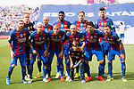 Players of FC Barcelona pose for photos during their La Liga match between Deportivo Leganes and FC Barcelona at the Butarque Municipal Stadium on 17 September 2016 in Madrid, Spain. Photo by Diego Gonzalez Souto / Power Sport Images