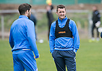 St Johnstone Training…16.05.17<br />Tam Scobbie pictured during training this morning ahead of tomorrows game against Hearts.<br />Picture by Graeme Hart.<br />Copyright Perthshire Picture Agency<br />Tel: 01738 623350  Mobile: 07990 594431