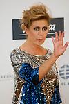 """King Felipe of Spain and Queen Letizia of Spain attend 'XIII EDICIÓN DE LOS PREMIOS INTERNACIONALES DE PERIODISMO 2013 Y CONMEMORACIÓN DEL 25º ANIVERSARIO DEL DIARIO """"EL MUNDO"""" at The Westin Palace Hotel. <br /> Agata Ruiz de la Prada<br /> October 20, 2014. (ALTERPHOTOS/Emilio Cobos)"""