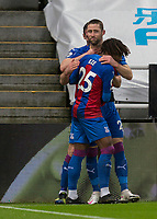 2nd February 2021; St James Park, Newcastle, Tyne and Wear, England; English Premier League Football, Newcastle United versus Crystal Palace; Gary Cahill of Crystal Palace  Celebrates after scoring Crystal Palace 2nd and winning goal in the 25th minute