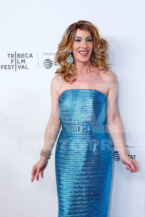 Linda Simpson during the red carpet of the Wig movie at the Tribeca Film Festival at Spring Studio in New York this Saturday, May 04. (Photo: Vanessa Carvalho / Brazil Photo Press)