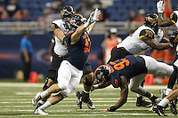 SAN ANTONIO, TX - OCTOBER 8, 2016: The University of Texas at San Antonio Roadrunners defeat the University of Southern Mississippi Golden Eagles 55-32 at the Alamodome. (Photo by Jeff Huehn)