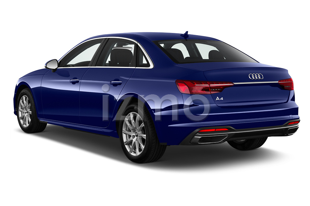 Car pictures of rear three quarter view of 2020 Audi A4-Sedan Premium 4 Door Sedan Angular Rear