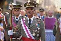 - military during the celebrations of the Holy Week of Easter in Seville....- militari durante le celebrazioni della Settimana Santa di Pasqua a Siviglia