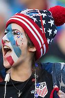 Action photo during the match United States vs Ecuador at CenturyLink Field Stadium Copa America Centenario 2016. ---Foto  de accion durante el partido Estados Unidos En el Estadio CenturyLink Field. Partido Correspondiante a los Cuartos de Final de la Copa America Centenario USA 2016, en la foto: Fans<br /> <br /> --- - 16/06/2016/MEXSPORT/Omar Martinez.