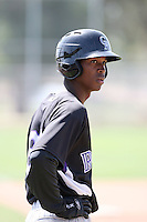Rosell Herrera, Colorado Rockies 2010 minor league spring training..Photo by:  Bill Mitchell/Four Seam Images.