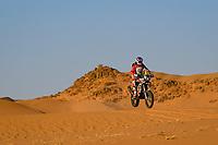 4th January 2021; Dakar Rally stage 2;  #87 Mena Oriol (esp), KTM, FN Speed - Rieju Team, Moto, Bike, action during the 2nd stage of the Dakar 2021 between Bisha and Wadi Al Dawasir, in Saudi Arabia on January 4, 2021