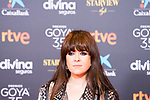 Singer Vanessa Martin attends the red carpet previous to Goya Awards 2021 Gala in Malaga . March 06, 2021. (Alterphotos/Francis González)