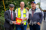 Michael Healy Rae TD (Ambassador for the Banna Sea Rescue),Thomas Ward (Chairman Banna Sea Rescue) and Larry Keane at the Abbeydorney Vintage Tractor run on Sunday.