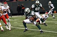 Runningback Thomas Jones (Jets)<br /> New York Jets vs. Kansas City Chiefs<br /> *** Local Caption *** Foto ist honorarpflichtig! zzgl. gesetzl. MwSt. Auf Anfrage in hoeherer Qualitaet/Aufloesung. Belegexemplar an: Marc Schueler, Am Ziegelfalltor 4, 64625 Bensheim, Tel. +49 (0) 6251 86 96 134, www.gameday-mediaservices.de. Email: marc.schueler@gameday-mediaservices.de, Bankverbindung: Volksbank Bergstrasse, Kto.: 151297, BLZ: 50960101