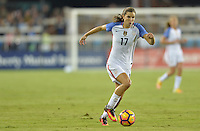 San Jose, CA - November 10, 2016: The U.S. Women's National team go up 5-1 over Romania during an international friendly game at Avaya Stadium.