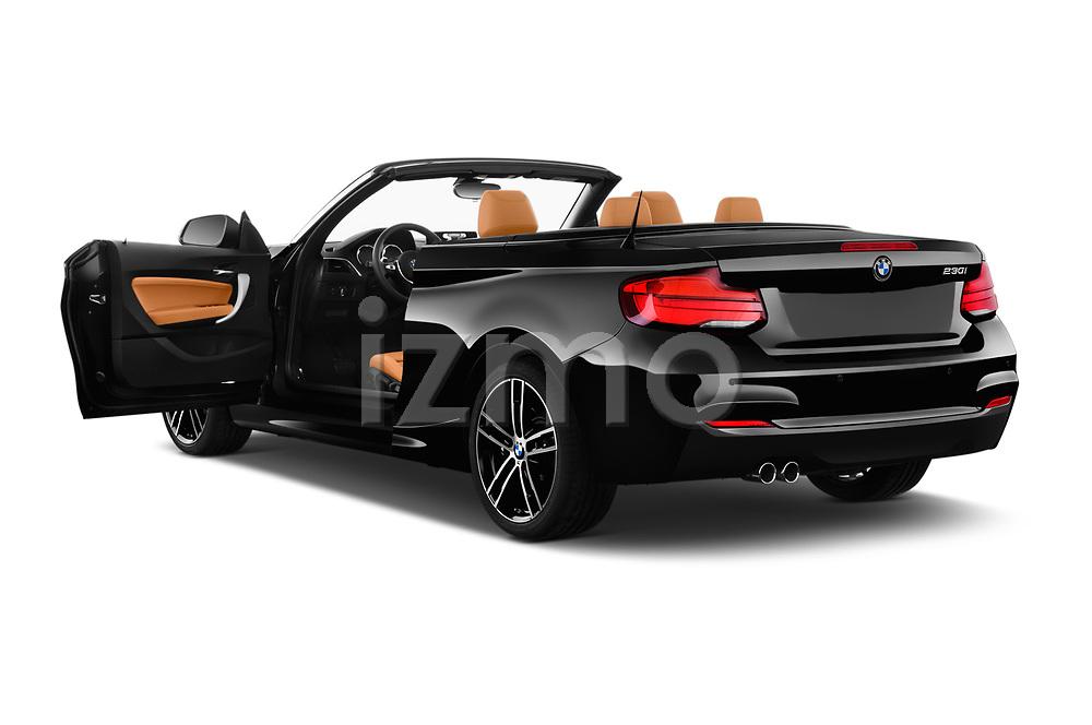 Car images close up view of a 2018 BMW 2 Series M Sport 2 Door Convertible doors