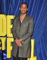 """Reggie Yates at the 65th BFI London Film Festival """"The Harder They Fall"""" opening gala, Royal Festival Hall, Belvedere Road, on Wednesday 06th October 2021, in London, England, UK. <br /> CAP/CAN<br /> ©CAN/Capital Pictures"""