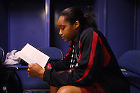 7 April 2008: Stanford Cardinal Melanie Murphy during Stanford's press conference for the 2008 NCAA Division I Women's Basketball Final Four championship game at the St. Pete Times Forum Arena in Tampa Bay, FL.