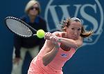 Jelena Jankovic (SRB) Defeats Sloane Stephens (USA) 6-3, 7-5, 7-5