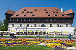 DEU, Deutschland, Baden-Wuerttemberg, Bodensee, Konstanz: Konzilgebaeude | DEU, Germany, Baden-Wuerttemberg, Lake Constance, Constance: Mercantile House at the Harbour