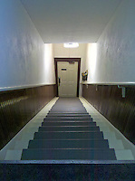 Doorway and stairs leading to second floor apartments. From Verizon Droid camera.