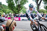 Daniel Oss (ITA/BORA - hansgrohe)<br /> <br /> 104th Giro d'Italia 2021 (2.UWT)<br /> Stage 1 (ITT) from Turin to Turin (8.6 km)<br /> <br /> ©kramon