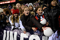 COLUMBUS, OH - NOVEMBER 07: Supporters of the United States during a game between Sweden and USWNT at MAPFRE Stadium on November 07, 2019 in Columbus, Ohio.