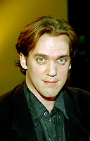 Montreal (Qc) CANADA -1995File Photo <br /> Jean-Marc Vallee, director of LISTE NOIRE, press conference<br /> -World Film Festival.<br /> <br /> <br /> <br /> <br /> photo (c) Pierre Roussel - Images Distribution