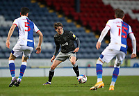 26th December 2020; Ewood Park, Blackburn, Lancashire, England; English Football League Championship Football, Blackburn Rovers versus Sheffield Wednesday; Adam Reach of Sheffield Wednesday makes space to shoot and score after 41 minutes to hit give his side a 0-1 lead