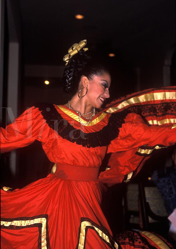 Dancer. Yucatan Peninsula. Mexico.