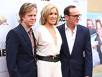 """HOLLYWOOD, LOS ANGELES, CA, USA - MAY 22: William H. Macy, Felicity Huffman, Clark Gregg at the Los Angeles Premiere Of """"Trust Me"""" held at the Egyptian Theatre on May 22, 2014 in Hollywood, Los Angeles, California, United States. (Photo by Xavier Collin/Celebrity Monitor)"""