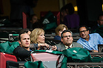 ELMONT, NY - OCTOBER 08: NY Mets pitcher, Noah Syndergaard, watching the Horse named after him during the 145th Running of The Champagne, on Jockey Club Gold Cup Day at Belmont Park on October 8, 2016 in Elmont, New York. (Photo by Douglas DeFelice/Eclipse Sportswire/Getty Images)