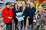 Cllr Norma Foley, Sandra Lynch (Garveys Supervalu), Cllr Jim Finucane, Mayor of Tralee, Jimmy Adams and Dr Susan Lawlor launching the Autism Friendly Town initiative in Garveys Supervalu in Tralee on Monday.  <br />  Cllr Norma Foley, Sandra Lynch (Garveys Supervalu), Cllr Jim Finucane, Mayor of Tralee, Jimmy Adams and Dr Susan Lawlor,
