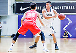 Gonzalez Lau #10 of Eagle Basketball Team handles the ball against the Nam Ching during the Hong Kong Basketball League game between Eagle and Nam Ching at Southorn Stadium on June 22, 2018 in Hong Kong. Photo by Yu Chun Christopher Wong / Power Sport Images