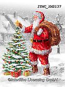 Marcello, CHRISTMAS SANTA, SNOWMAN, WEIHNACHTSMÄNNER, SCHNEEMÄNNER, PAPÁ NOEL, MUÑECOS DE NIEVE, paintings+++++,ITMCXM2137,#x#