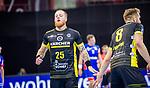 Patrick Zieker (TVB Stuttgart #25) ; Rudolf Faluvegi (TVB Stuttgart #8) ; BGV Handball Cup 2020 Halbfinaltag: TVB Stuttgart vs. HBW Balingen-Weilstetten am 11.09.2020 in Ludwigsburg (MHPArena), Baden-Wuerttemberg, Deutschland<br /> <br /> Foto © PIX-Sportfotos *** Foto ist honorarpflichtig! *** Auf Anfrage in hoeherer Qualitaet/Aufloesung. Belegexemplar erbeten. Veroeffentlichung ausschliesslich fuer journalistisch-publizistische Zwecke. For editorial use only.