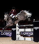 Edwina Tops-Alexander of Australia rides during the Longines Hong Kong Masters on 2 March 2013 at the Asia World-Expo in Hong Kong, China. Photo by Manuel Queimadelos / The Power of Sport Images
