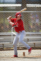 St. Louis Cardinals Bryce Denton (32) during a minor league Spring Training intrasquad game on March 31, 2016 at Roger Dean Sports Complex in Jupiter, Florida.  (Mike Janes/Four Seam Images)