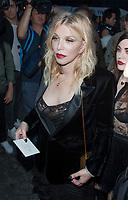 September 26 2017, PARIS FRANCE<br /> the Yves Saint Laurent Show at the Paris Fashion Week Spring Summer 2017/2018. Singer Courtney Love<br /> arrives at the show.
